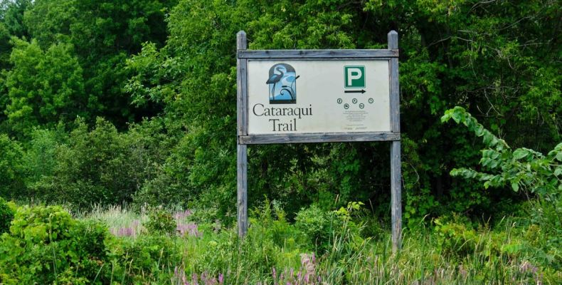 Cataraqui Trail Sign