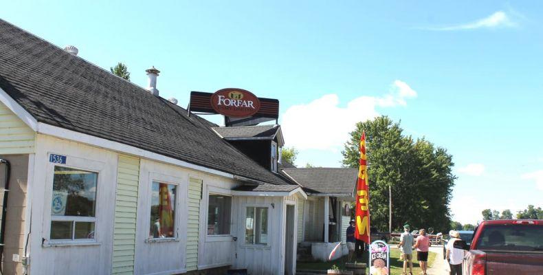 Forfar Cheese Factory, exterior